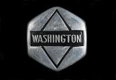 view Washington Motor Co. Radiator Emblem digital asset: Washington Motor Co. Radiator Emblem