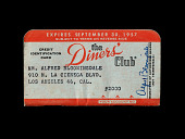 view Diners' Club Credit Card, United States, 1957 digital asset number 1