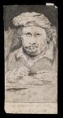 view Rembrandt etching a plate digital asset: Rembrandt etching a plate