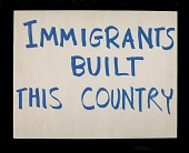 """view Poster, """"Immigrants Built This Country"""" digital asset number 1"""