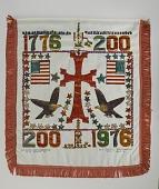 view Armenian-American Bicentennial Banner, 1976 digital asset number 1
