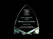 view Minnijean Brown Trickey Soul of Humanity award and box 2012 digital asset number 1