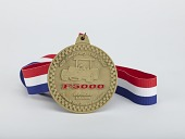 view Honorary Member medal awarded by the Formula 5000 Registry presented to Leonard W. Miller, 2009 digital asset number 1