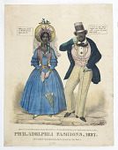 view Philadelphia Fashions, 1837 digital asset number 1