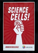 view Science Cells! digital asset: Science Cells!, Sign, March for Science