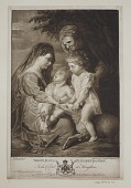 view Madonna and Child with Saint Elizabeth and John the Baptist digital asset: Madonna and Child with Saint Elizabeth and John the Baptist