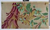 view Cheney Brothers design for furnishing fabric, 1 of 6 sheets, 1913 digital asset number 1