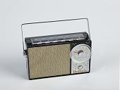 "view Hoffman model KP 706 ""Trans-Solar"" transistor radio digital asset: Hoffman model KP706 ""Trans-Solar"" portable radio"