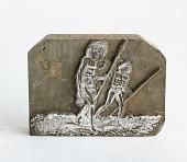 """view Engraved wood block """"Natives of Wytoohee"""" digital asset: Natives of Wytoohee"""