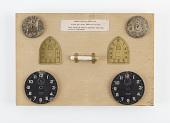 view display, panel showing radium painted dials digital asset number 1