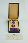 view Purple Heart digital asset: Purple Heart medal of Vernon German