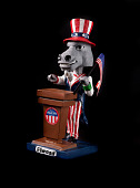 view 'Elwood' Uncle Sam Bobblehead digital asset number 1