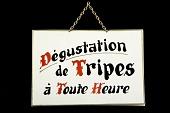 view Placard, Dégustation de Tripes à Toute Heure digital asset number 1