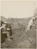 view Frederick Webb Hodge and Charles Turbyfill excavating digital asset: Frederick Webb Hodge and Charles Turbyfill excavating