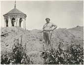 view George Heye at Nacoochee Mound digital asset: George Heye at Nacoochee Mound
