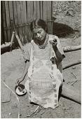 view Chinantec [Chinantla] woman spinning digital asset: Chinantec [Chinantla] woman spinning