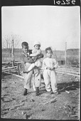 view Frederick Johnson photograph collection digital asset: Portrait of Three Nanticoke Children