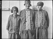 view Three Young Nanticoke Women digital asset: Three Young Nanticoke Women