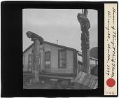 view House of Tlingit Chief Shake. Wrangell. Alaska digital asset: House of Tlingit Chief Shake. Wrangell. Alaska