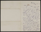 view Letters Received: D-J digital asset: Letters Received: D-J: 1880-1905