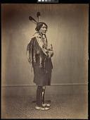 view Sicangu Lakota (Brulé Sioux) delegate, Washington, D.C. digital asset: [P10146] Sicangu Lakota (Brulé Sioux) delegate Medicine Bull