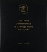 view Jim Thorpe Commemorative Postage Stamps digital asset: Jim Thorpe Commemorative Postage Stamps