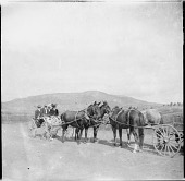 view Carriages on a road digital asset: Carriages on a road