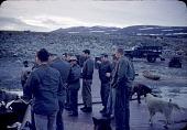 view Men (Baffinland Inuit) flensing a whale digital asset: S04830