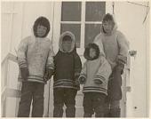 view Four boys (Baffinland Inuit) digital asset: P32303