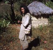 view Kogi (Kagaba) man in traditional clothing digital asset: Kogi (Kagaba) man in traditional clothing