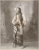 view Harlan Gannon (Little Snake), Omahas, No. 790 digital asset: Harlan Gannon (Little Snake), Omahas, No. 790