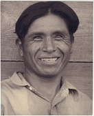 view Walter Hazelton photograph collection digital asset: Clyde Tsethlika, an artist in silver and beadwork