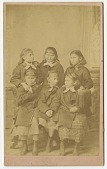 view Carlisle Indian School girls digital asset: Carlisle Indian School girls