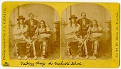 view Chiefs visiting Carlisle Indian School digital asset: Chiefs visiting Carlisle Indian School