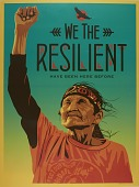 """view 2017.0008- """"We the Resilient"""" poster by Ernesto Yerena Montejano digital asset: 2017.0008- """"We the Resilient"""" poster by Ernesto Yerena Montejano"""