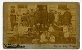 view 2015.0049- Fort Wrangell Tlingit Industrial School photograph digital asset: 2015.0049- Fort Wrangell Tlingit Industrial School photograph