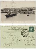view Algeria ALGER - Panorama et Transatlantique dans le Port digital asset: Algeria ALGER - Panorama et Transatlantique dans le Port