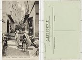 view Algeria ALGER - Rue Kléber - Quartier Arabe digital asset: Algeria ALGER - Rue Kléber - Quartier Arabe