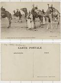 view Algeria Spahis sahariens avec leurs montures (coursiers du désert) digital asset: Algeria Spahis sahariens avec leurs montures (coursiers du désert)