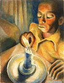 view <I>Boy and the Candle</I> digital asset number 1