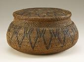view Basket with lid digital asset number 1