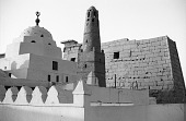 view Mosque of Abu el-Haggag. Luxor, Egypt digital asset: Mosque of Abu el-Haggag. Luxor, Egypt