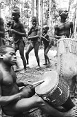 view Dance at edge of Ituri Forest, near Beni, Congo (Democratic Republic) digital asset: Dance at edge of Ituri Forest, near Beni, Congo (Democratic Republic)