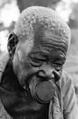 view Bira elderly woman with nzudu ornament, near Bunia, Congo (Democratic Republic) digital asset: Bira elderly woman with nzudu ornament, near Bunia, Congo (Democratic Republic)
