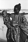 view Mother and child by river, Mopti, Mali digital asset: Mother and child by river, Mopti, Mali