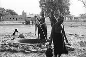 view Dogon women at well, near Sanga, Mali digital asset: Dogon women at well, near Sanga, Mali