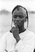 view Young Wodaabe man, Abouza, Zinder-Tanout region, Niger digital asset: Young Wodaabe man, Abouza, Zinder-Tanout region, Niger