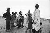 view Men, women, and children, Abouza, Zinder-Tanout region, Niger digital asset: Men, women, and children, Abouza, Zinder-Tanout region, Niger