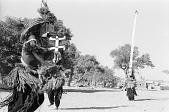 view Kanaga and sirige masquerade during the Dama ceremony. Sanga, Mali digital asset: Kanaga and sirige masquerade during the Dama ceremony. Sanga, Mali