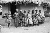 view Women and children, Man region, Ivory Coast digital asset: Women and children, Man region, Ivory Coast